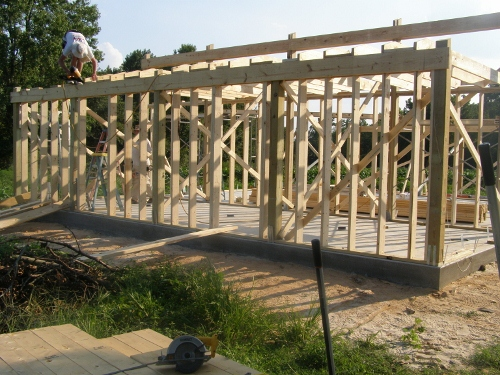Stick Framing For Pole Barn