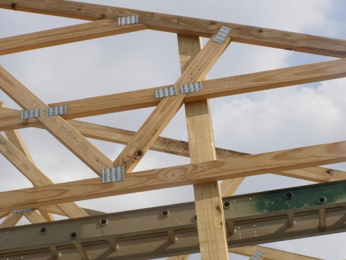 Structural Gable Endframes Connection