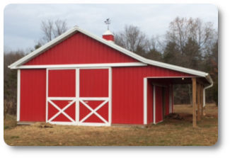 24x24x10 pole barn prices