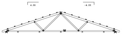 30' span gable truss drawing