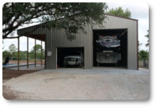 36x48x16 RV & General Storage pole barn