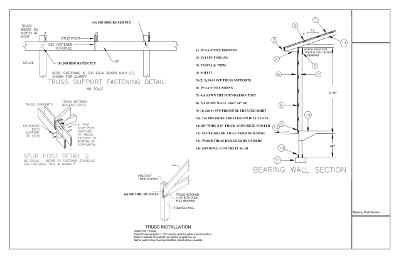Oregon Pole Building Plans Pole Building Drawings