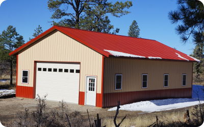 Pole Barns Colorado Colorado Pole Barn Kits By Apb