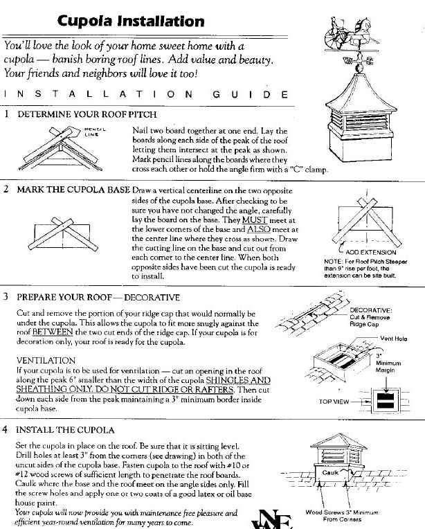Roof Cupola Plans Cupola Roof Options Showy Plans Pdf Sc