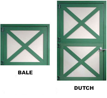 dutch and bale doors