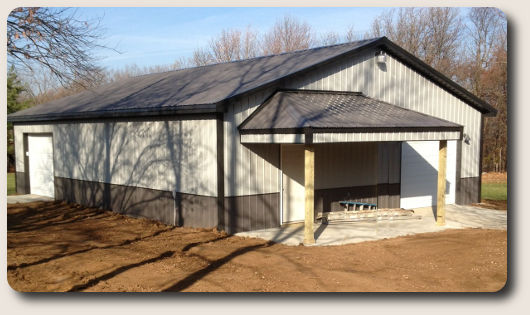 Pole barn garage kits for Barn packages for sale