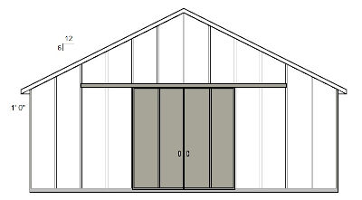 gable drawing