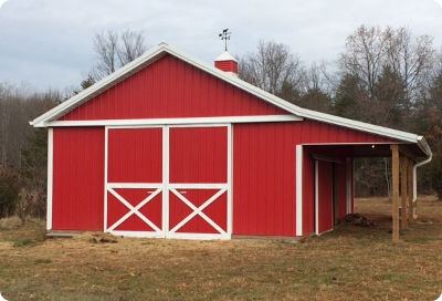 Pole buildings are versatile types we offer at apb for Versatile sheds prices