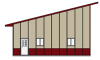 Pole barn kits pole building packages apb pole barns for Pole barn material list free