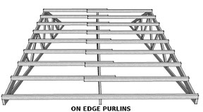purlins on edge
