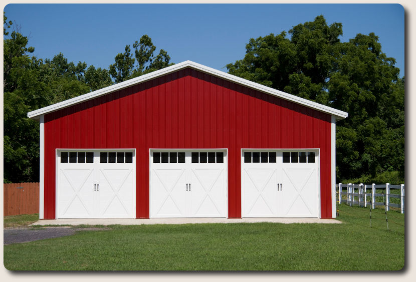 Pole building construction pole barn construction company for Barns garages