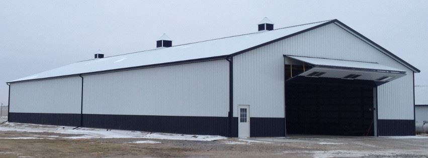 pole barn hangar