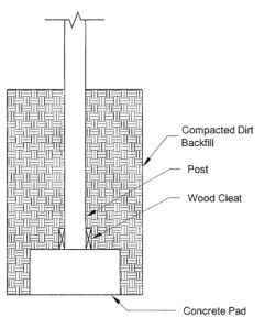 Post Foundation Embedment Techniques