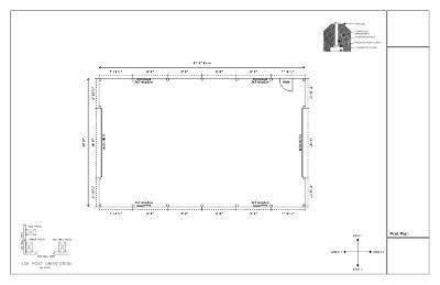 Washington Pole Barn Plans Pole Building Drawings