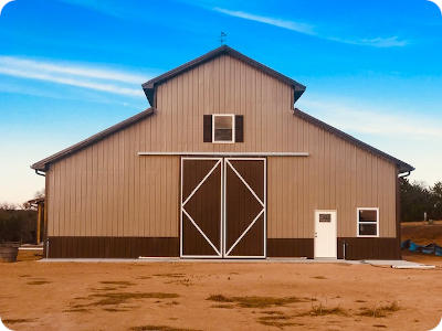 Excellent Horse Barn Kits Horse Barns By Apb Pole Barns Download Free Architecture Designs Scobabritishbridgeorg