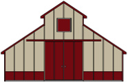Pole barn kits pole building packages apb pole barns for Pole building images