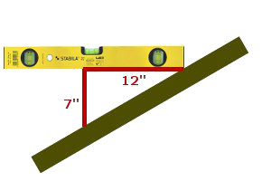 712 roof pitch - How To Measure Roof Pitch