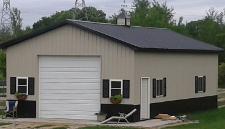 Pole Barn Kits 187 Building Packages Garage Shop Storage