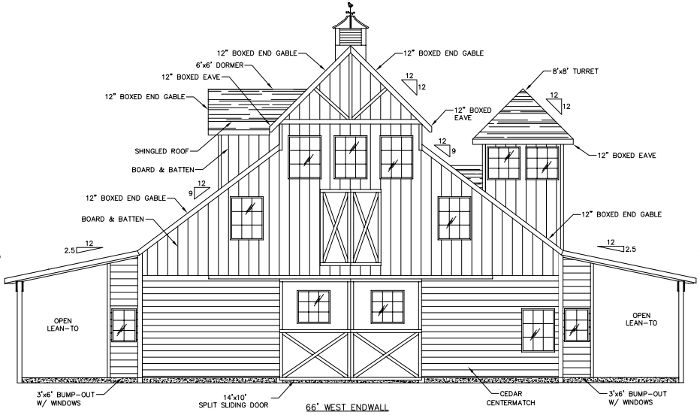 Wood horse barns custom wooden horse barn for Wood pole barn plans free